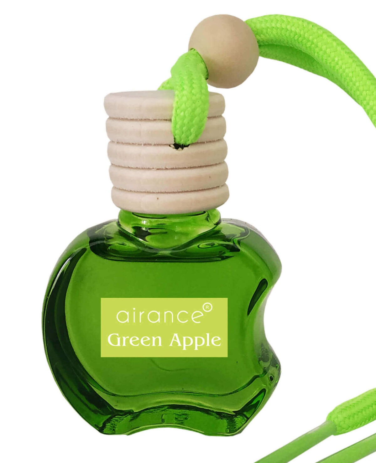 Airance Car Air Freshener Hanging - Green Apple