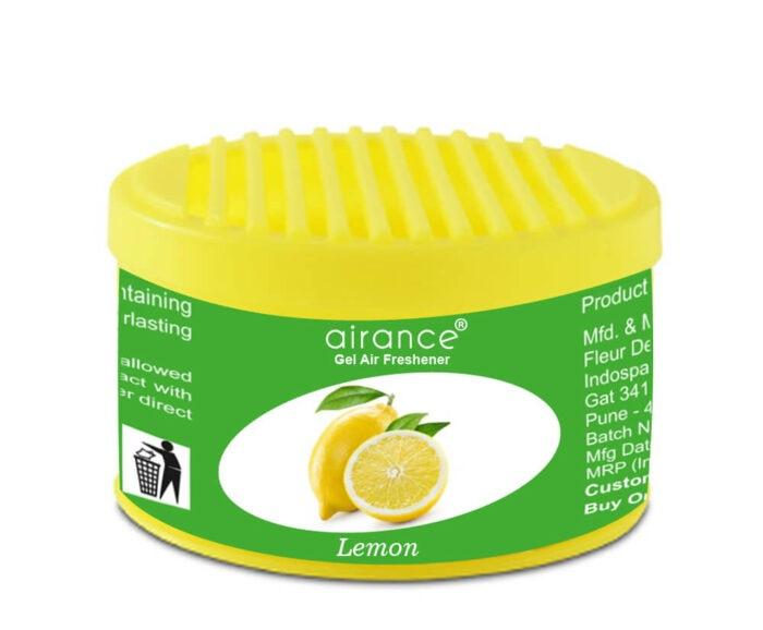 Airance Gel Car Air Freshener Lemon